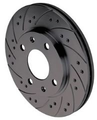 Black diamond brake discs Front 312mm (pair)